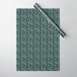AQUA LINEA Wrapping Paper