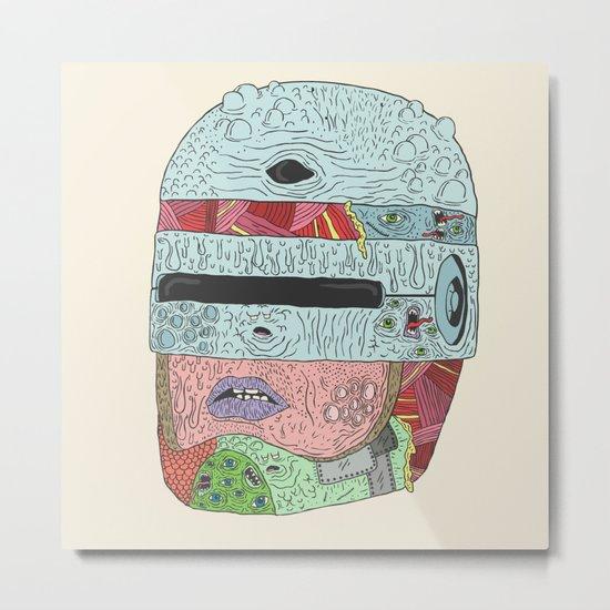Gorebocop Metal Print