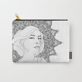 Art Nouveau Girl Carry-All Pouch