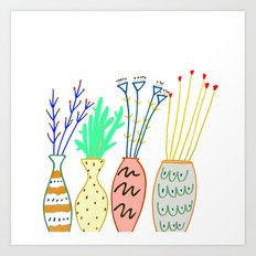 plants, plant, flowers, Art Print