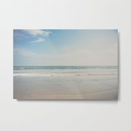 the shoreline ... Metal Print