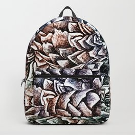 Artichokes and Pangolins Muted Backpack