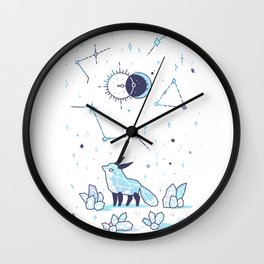 Arctic Nights Wall Clock
