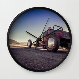 Vintage Racing Wall Clock