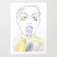 Watch Me! Art Print