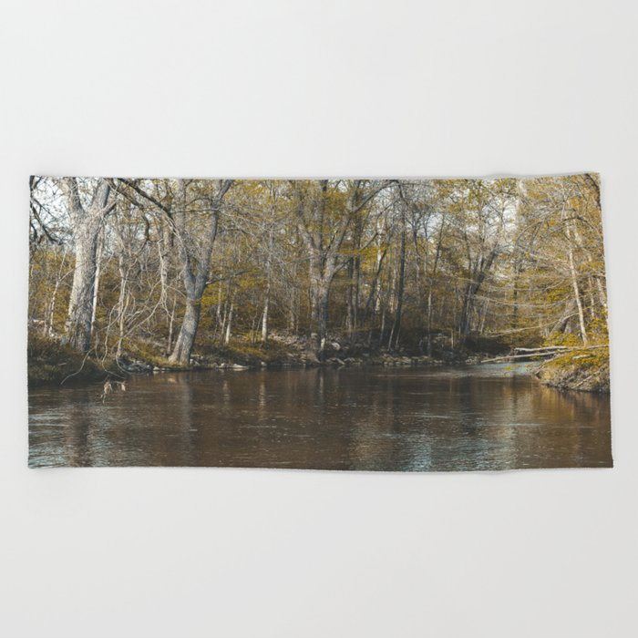 Take Me To The River Beach Towel