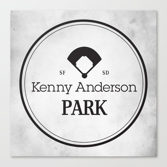 Kenny Anderson Park Canvas Print
