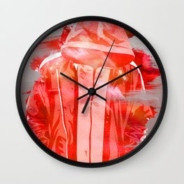 Marked Wall Clock