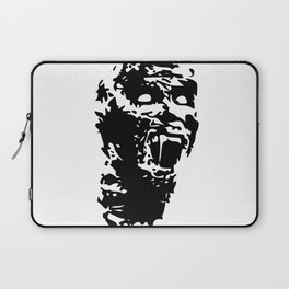 Zombie Face Laptop Sleeve