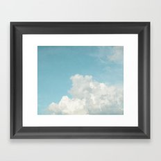 Summer Sky 3 Framed Art Print