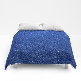 Cobalt Blue Glitter Comforters