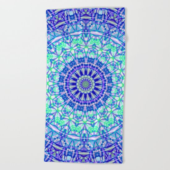 Tribal Mandala G389 Beach Towel