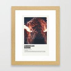 American Gods Framed Art Print