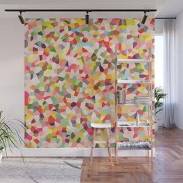Colorful Shapes 2 Wall Mural