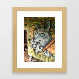 Coyote Spirit Framed Art Print