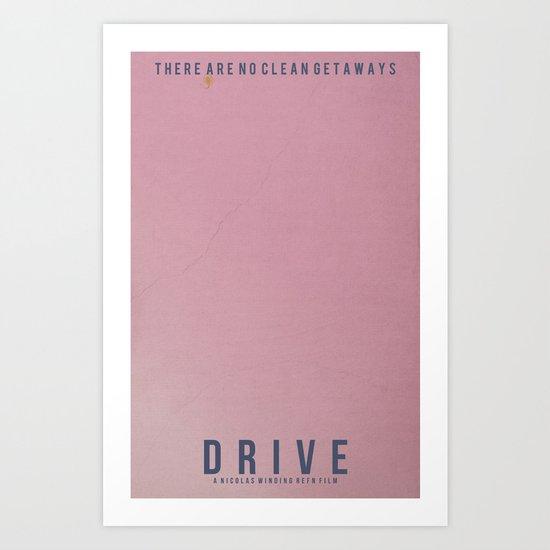 Minimalist Drive Art Print