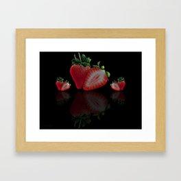 Strawberry's Framed Art Print