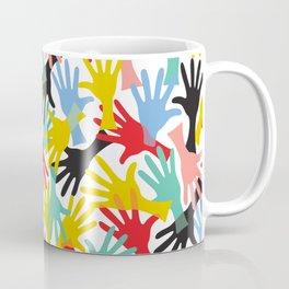 CELEBRATE! Graphic Hands Coffee Mug