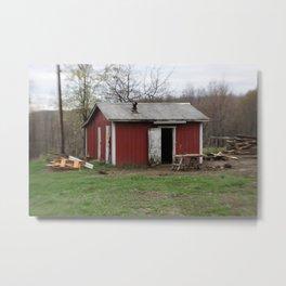 Little house in West Virginia Metal Print
