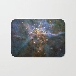 Colorful Hubble Space Telescope Carina Nebula Bath Mat