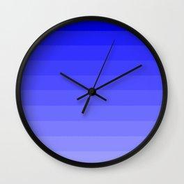 Cornflower Blue Ombre Wall Clock