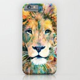 Garden of the Wild ~ LION iPhone Case