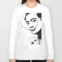 dali Long Sleeve T-shirts featuring Dali by Cynthia Alvarez