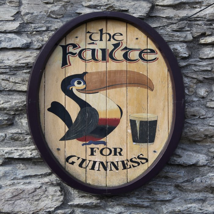 Wooden Guinness Sign Comforters