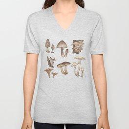 Mushrooms Unisex V-Neck