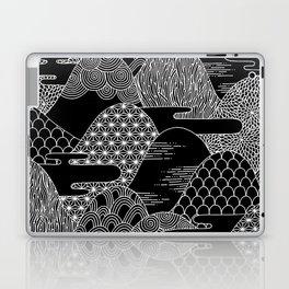 Cosmic Mountains Laptop & iPad Skin
