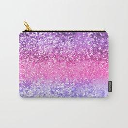 Unicorn Girls Glitter #6 #shiny #decor #art #society6 Carry-All Pouch