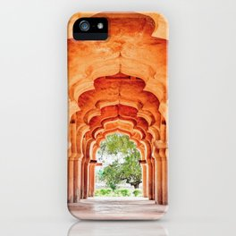 Lotus Mahal. Hampi.India. iPhone Case