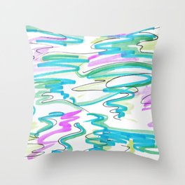 Ibiza Throw Pillow