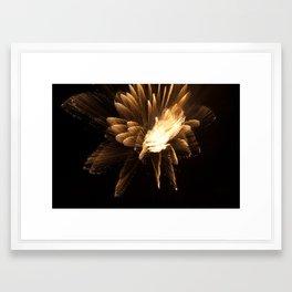 Inner Turmoil Framed Art Print