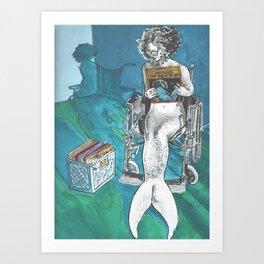 Resting My Bones Art Print