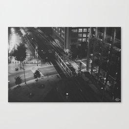 LightRail  Canvas Print