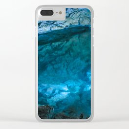 The underground lake Clear iPhone Case