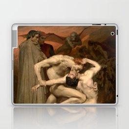 Dante and Virgil in Hell Laptop & iPad Skin