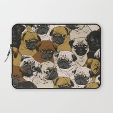 Social Pugz Laptop Sleeve