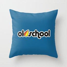 OLDSCHOOL v1 HQvector Throw Pillow