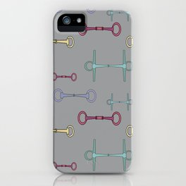Bridles in pastel iPhone Case