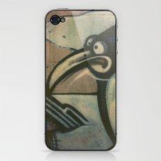 Penguin Graffiti iPhone & iPod Skin