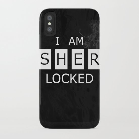 No. 1. I Am Sherlocked iPhone Case