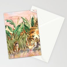 Thirsty Tigers Stationery Cards