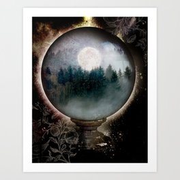 LITTLE WORLDS Art Print