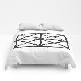 Tribal Print B&W- 05 Comforters