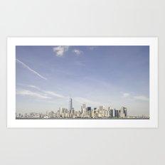 Lower Manhattan Skyline Art Print