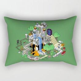 Mine City Rectangular Pillow