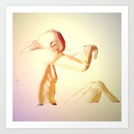 Paralyzed Paradise Art Print