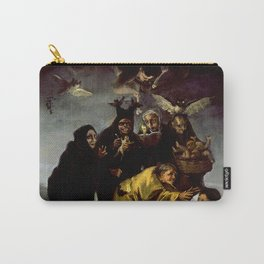 THE WITCHES SPELL - FRANCISCO GOYA Carry-All Pouch